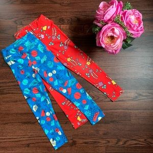 Bundle of LuLaRoe kids S/M leggings